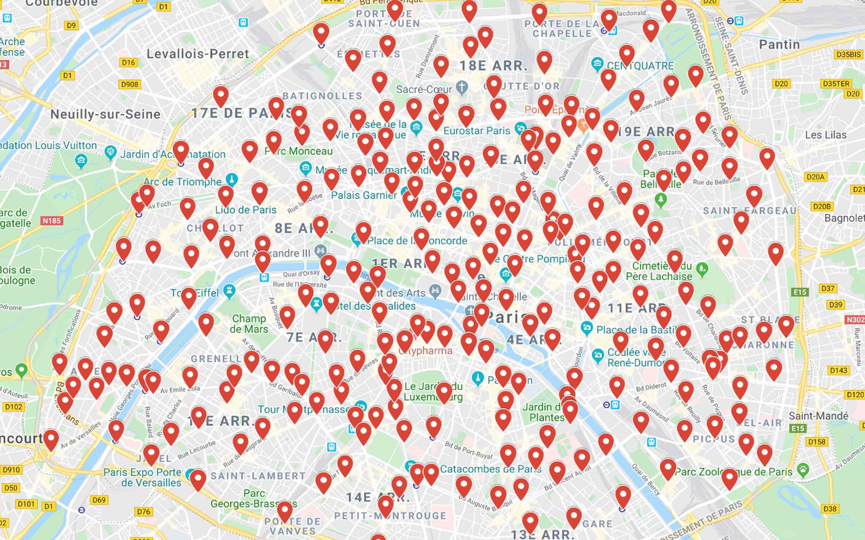 Mapping spot grand public