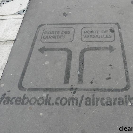 Campagne de Clean-Tag pour Air caraïbes